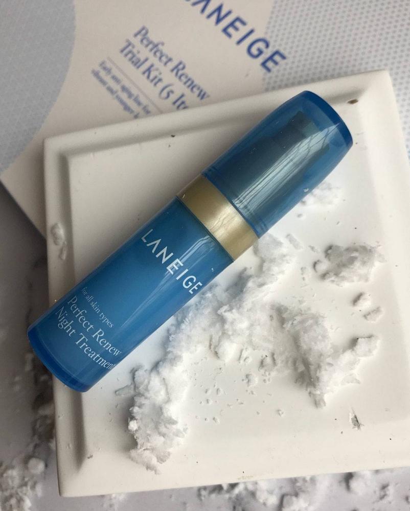 Набор для глубокого увлажнения кожи Laneige Perfect Renew Trial Kit 5 - Фото 5