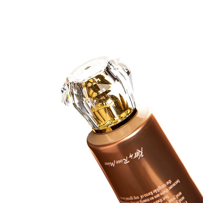 Крем для тела с ароматом мандарина и сладкого жасмина Evas Kiss by Rosemine Fragrance Cream Glamour Precious 140ml 3 - Фото 3