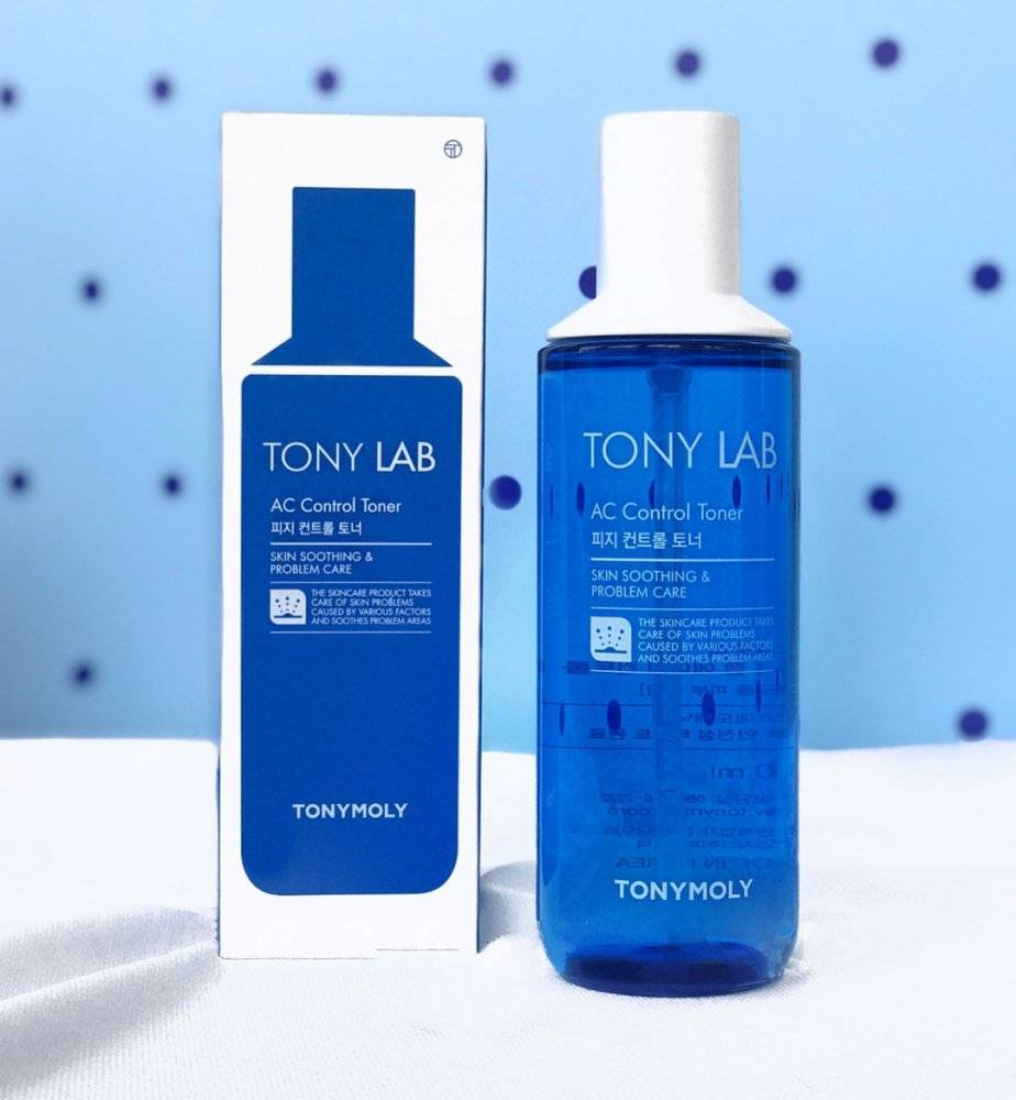 Набор Тонер И Эмульсия Для Жирной И Проблемной Кожи Tony Moly Tony Lab AC Control