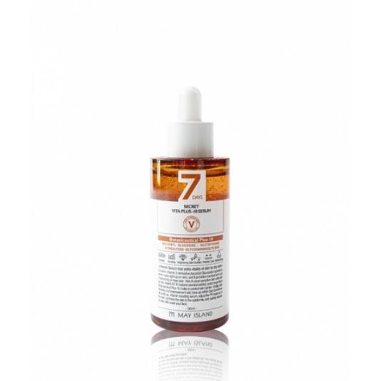 Мультивитаминная осветляющая сыворотка для лица May Island Seven Days Secret Vita Plus-10 Serum 50ml 2 - Фото 2