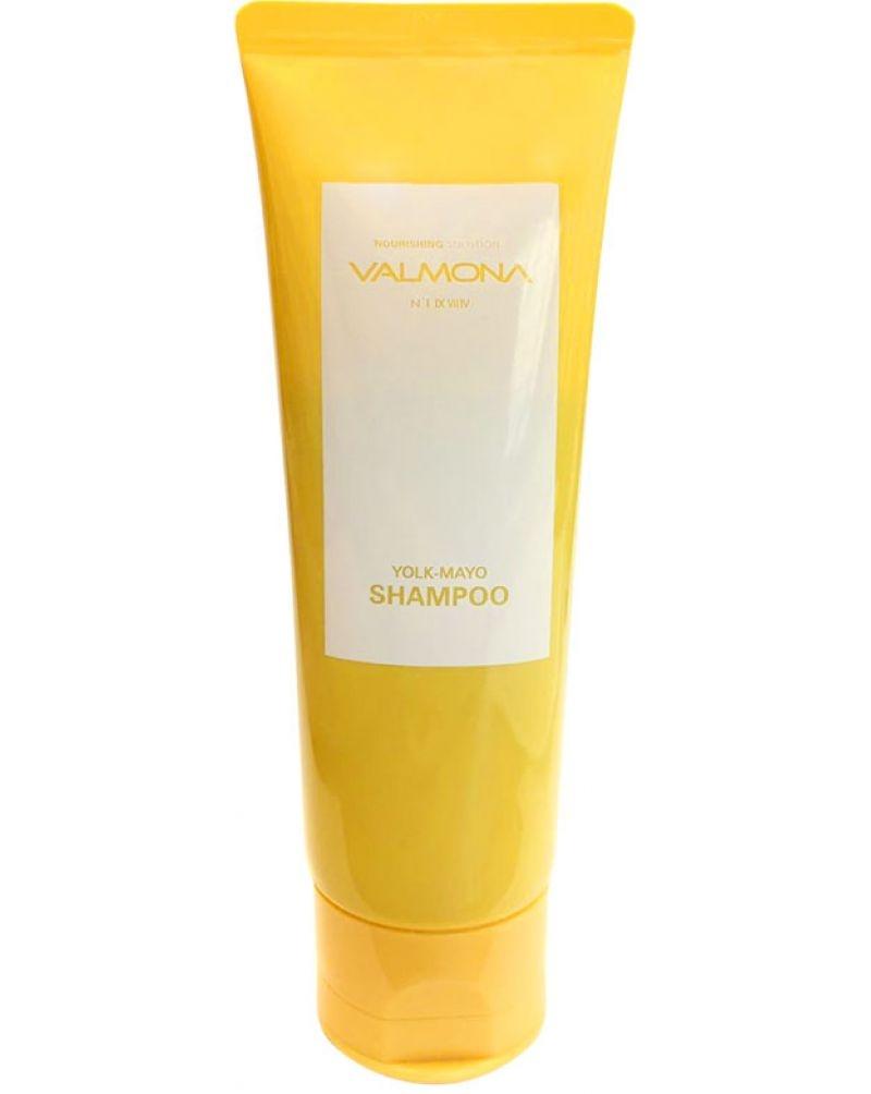 Шампунь для волос питательный Evas Valmona Nourishing Solution Yolk-Mayo Shampoo 0 - Фото 1