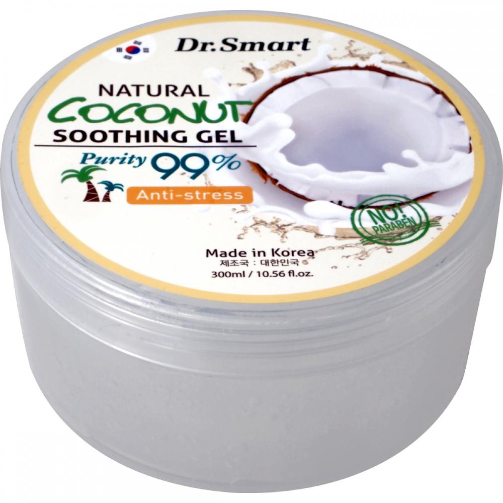Гель многофункциональный увлажняющий с экстрактом кокоса Sense of Care Dr.Smart Natural Coconut Soothing Gel 300ml 0 - Фото 1