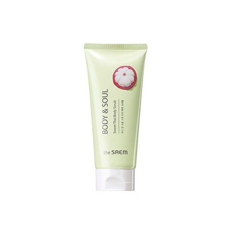 Скраб для тела с экстрактом мангостина The Saem Body&Soul Sweet Thai Body Scrub 200ml 0 - Фото 1
