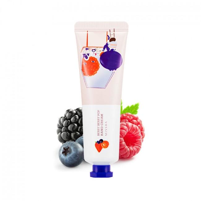 Крем для рук с экстрактом ягод Missha Love Secret Hand Cream Berry Berry Pop 30ml 0 - Фото 1