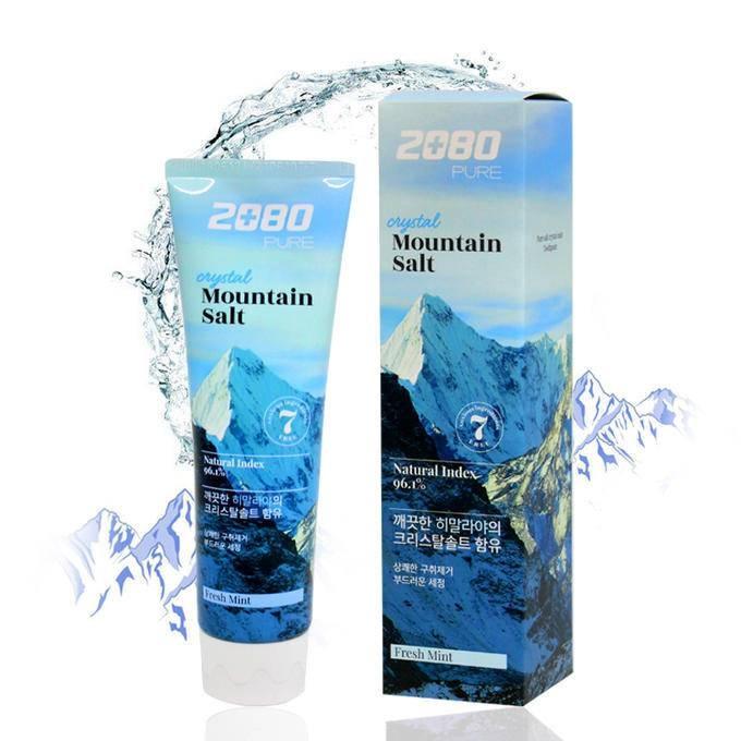 Зубная паста с гималайской солью Aekyung 2080 Crystal Mountain Salt Toothpaste 120g 1 - Фото 2