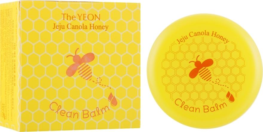 Бальзам Для Очищения И Снятия Макияжа Увлажняющий С Рапсовым Мёдом The Yeon Jeju Canola Honey Clean Balm 80ml 0 - Фото 1