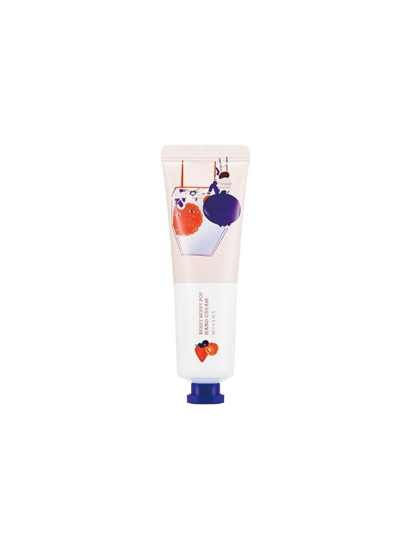 Крем для рук с экстрактом ягод Missha Love Secret Hand Cream Berry Berry Pop 30ml 2 - Фото 2