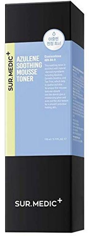 Успокаивающий тонер-мусс с азуленом Neogen SUR.MEDIC+ AZULENE SOOTHING MOUSSE TONER 3.71 oz / 110ml 0 - Фото 1