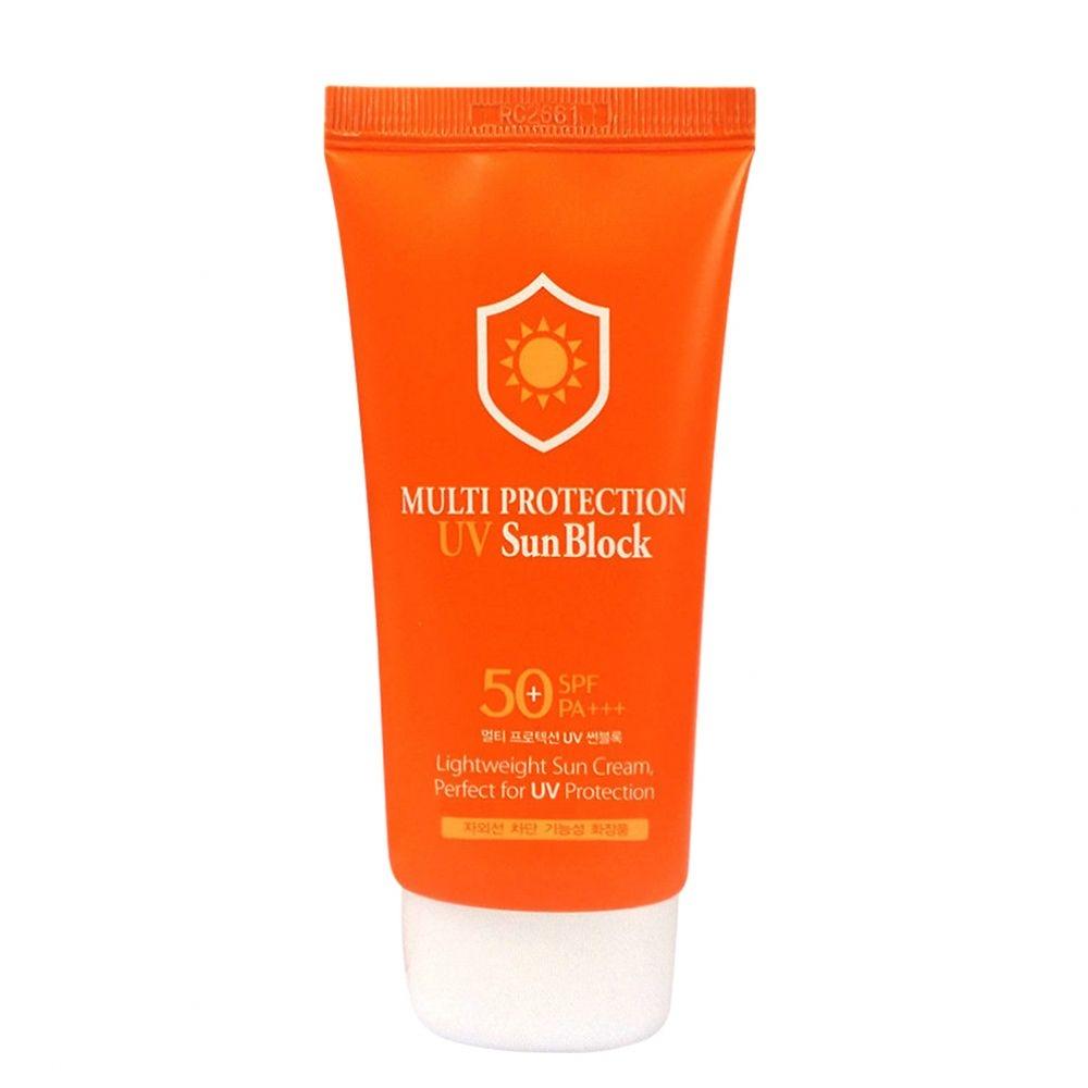 Солнцезащитный крем увлажняющий 3W Clinic Multi Protection UV Sun Block SPF50+ PA +++ 70ml 0 - Фото 1