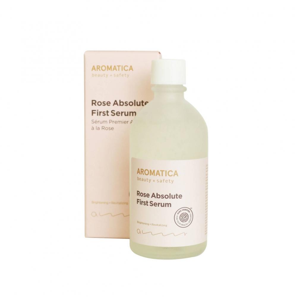 Сыворотка Восстанавливающая С Экстрактом Розы Aromatica Rose Absolute First Serum