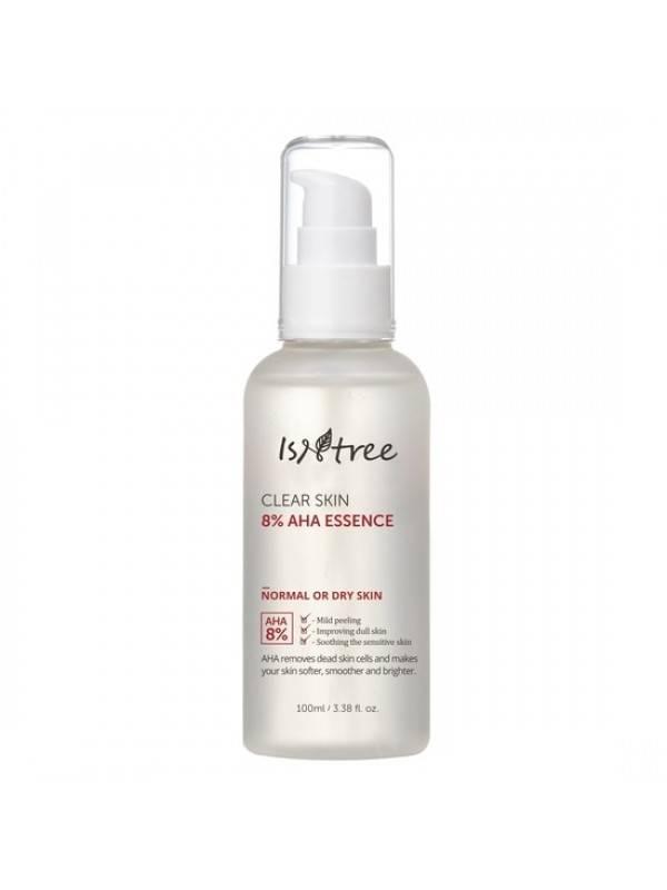 Пилинг Эссенция С АНА Кислотами IsNtree Clear Skin 8% AHA Essence