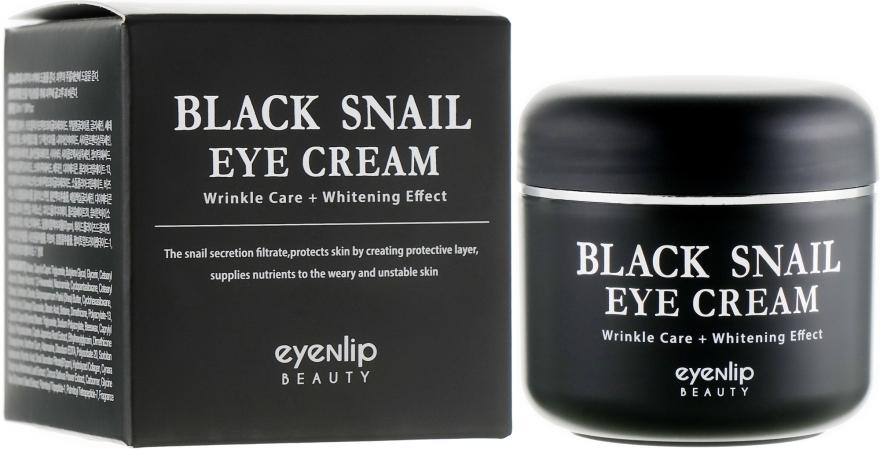 Крем многофункциональный с муцином черной улитки для глаз Eyenlip BLACK SNAIL EYE CREAM 50ml 0 - Фото 1