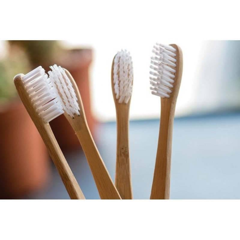 Зубная Щетка Из Экологически Чистого Бамбука EcoPanda 0