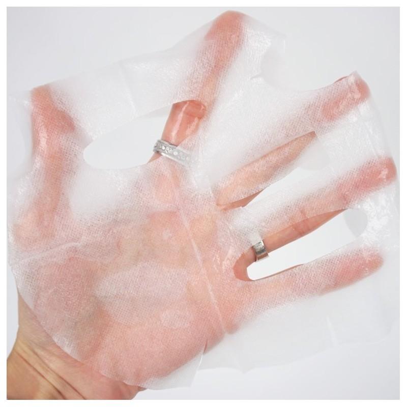 Маска тканевая восстанавливающая с протеинами для лица Petitfee&Koelf  Silk Amino Serum Mask 25g 4 - Фото 4