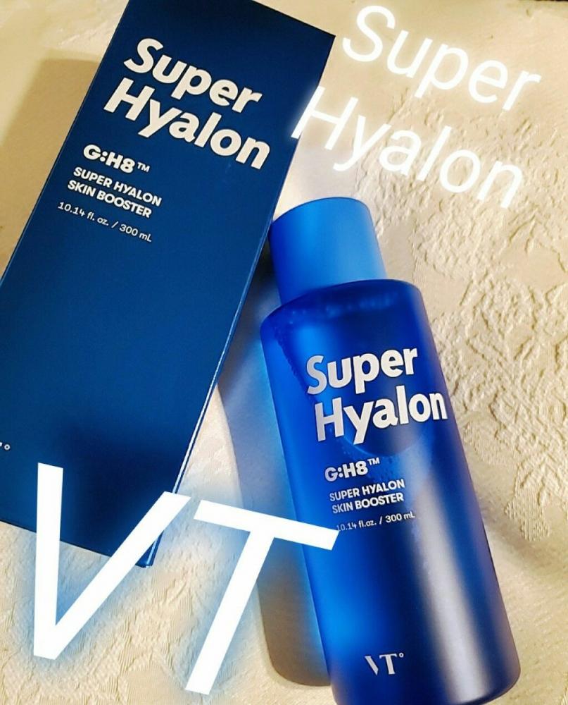 Тонер-бустер увлажняющий с гиалуроновой кислотой VT Cosmetics Super Hyalon Skin Booster 300ml 0 - Фото 1
