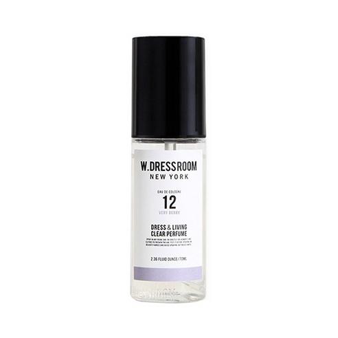 Парфюмированная вода для одежды и дома  W.Dressroom  Dress & Living Clear Perfume No.12 Very Berry 70ml 1 - Фото 2