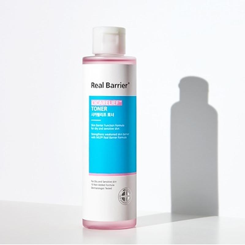 Тонер успокаивающий для чувствительной кожи с экстрактом азиатской центеллы Real Barrier Cicarelief Toner 190ml  0 - Фото 1
