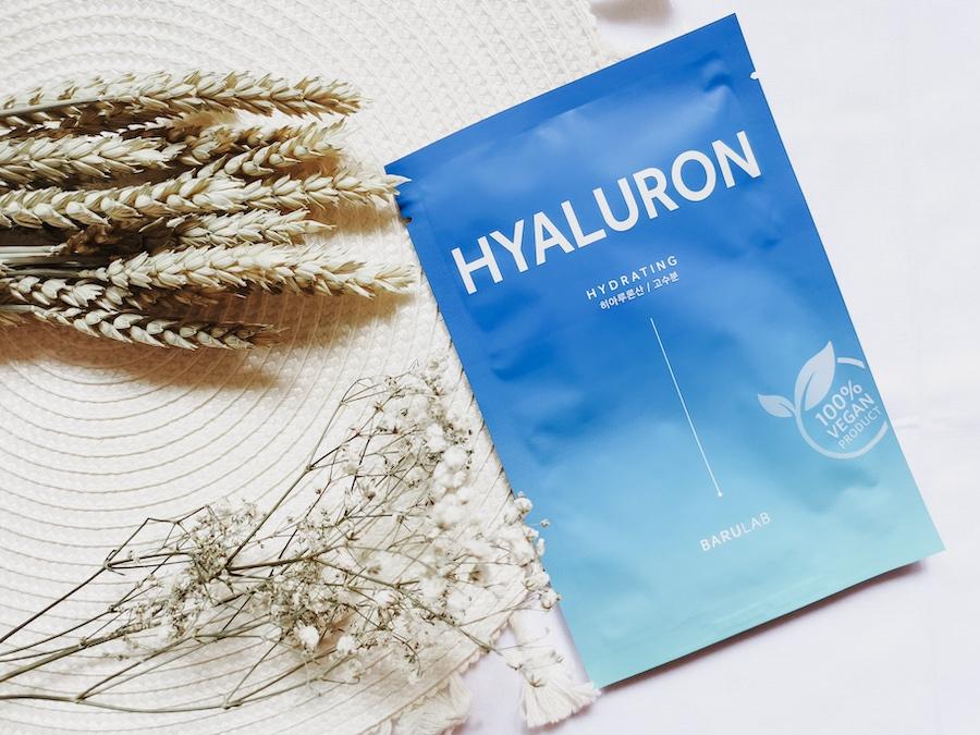 Увлажняющая тканевая маска с гиалуроновой кислотой Barulab The Clean Vegan Hyaluron Mask 23g 0 - Фото 1
