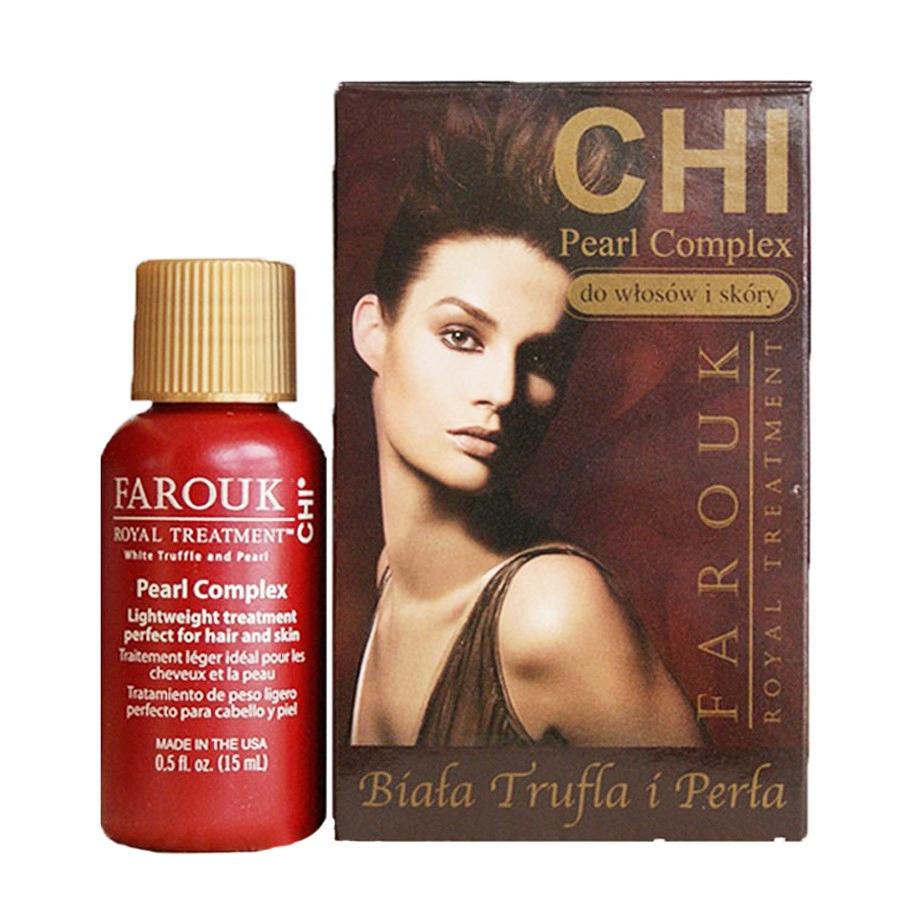 Комплекс восстанавливающий жемчужный на основе шелка для волос CHI Farouk Royal Treatment by CHI Pearl Complex 15ml 0 - Фото 1