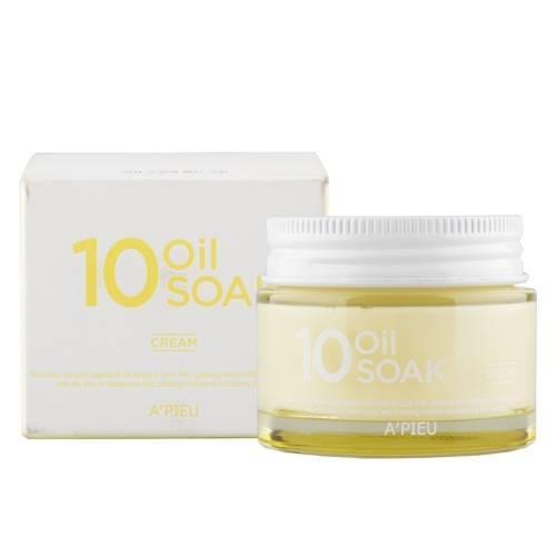 Крем Питательный На Растительных Маслах A'pieu 10 Oil Soak Cream 50ml