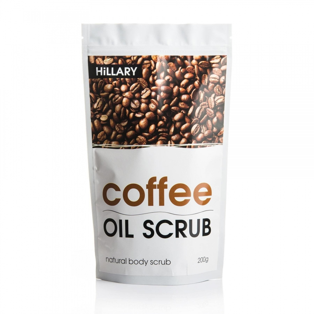 Кофейный скраб для тела Hillary Coffee Oil Scrub, 200 g 0 - Фото 1