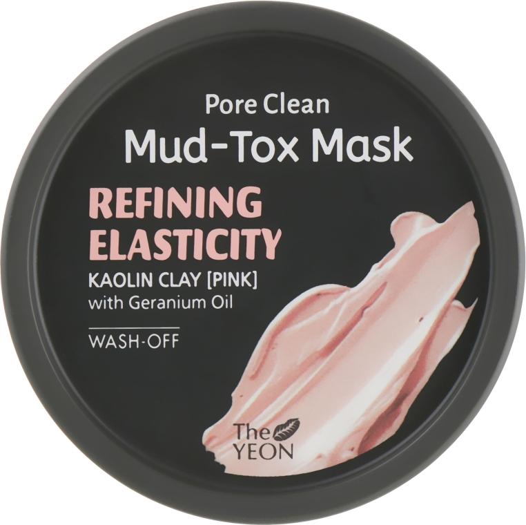 Маска-Детокс Омолаживающая для Лица С Розовой Глиной И Экстрактом Герани The Yeon Pore Clean Mud-Tox Mask Pink 80g 0 - Фото 1