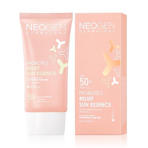 Солнцезащитная эссенция с пребиотиками Neogen Probiotics Relief Sun Essence 50ml 2 - Фото 2