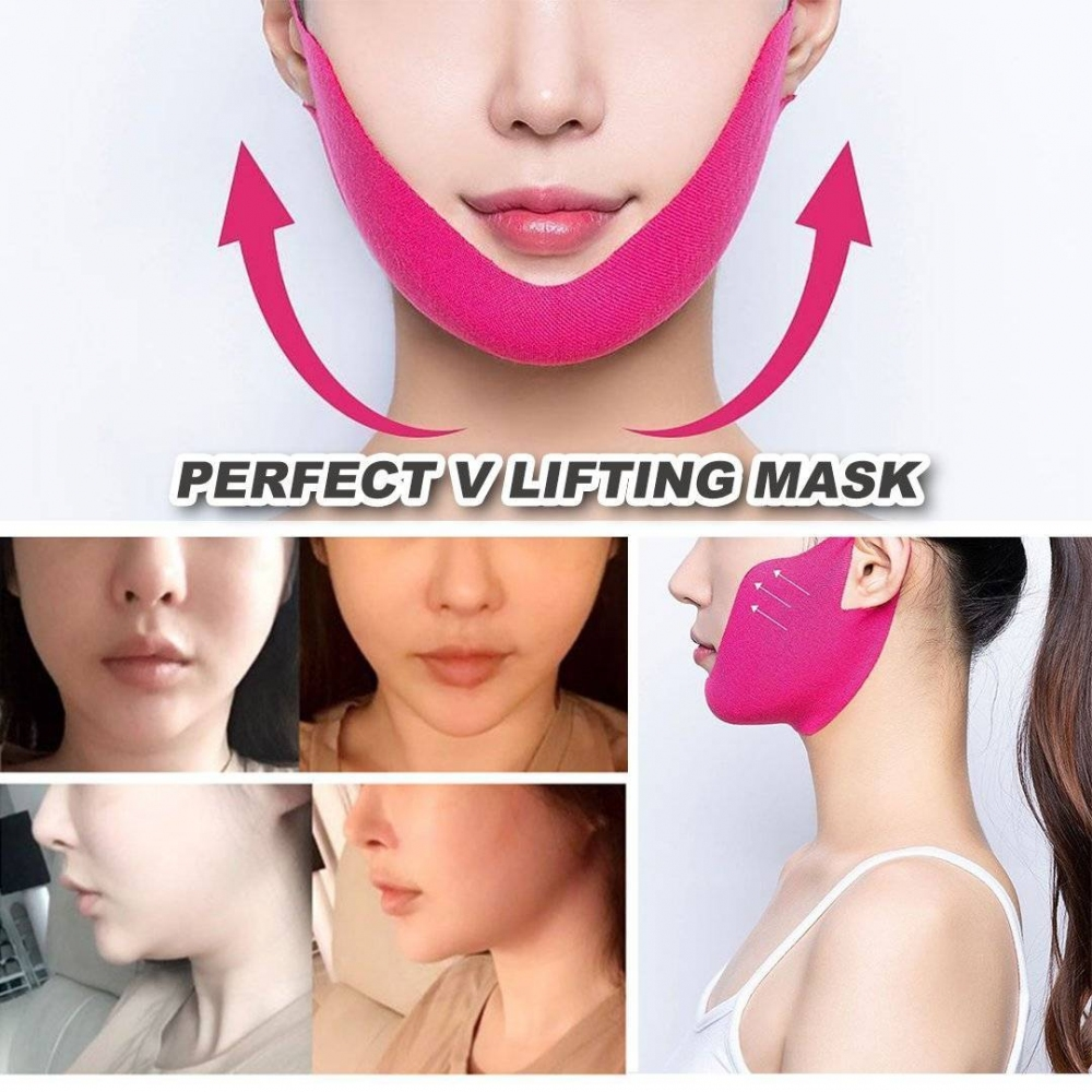 Маска Для Коррекции Овала Лица AVAJAR PERFECT V LIFTING PREMIUM MASK 1 - Фото 2