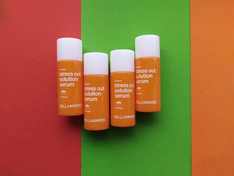 Сыворотка антистресс с маслом моркови BellaMonster Stress Out Solution serum mini 7ml 0 - Фото 1