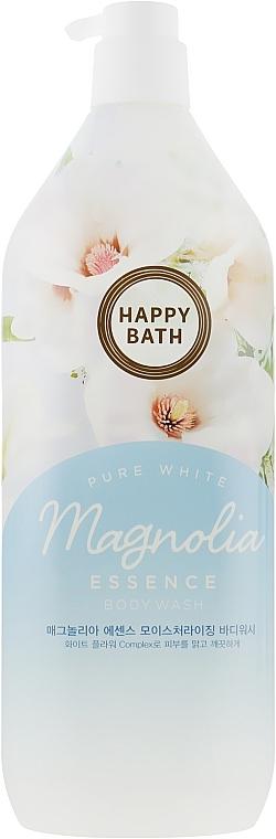 Гель-эссенция для душа с экстрактом цветов магнолии Happy Bath Magnolia Essence Body Wash 1100ml