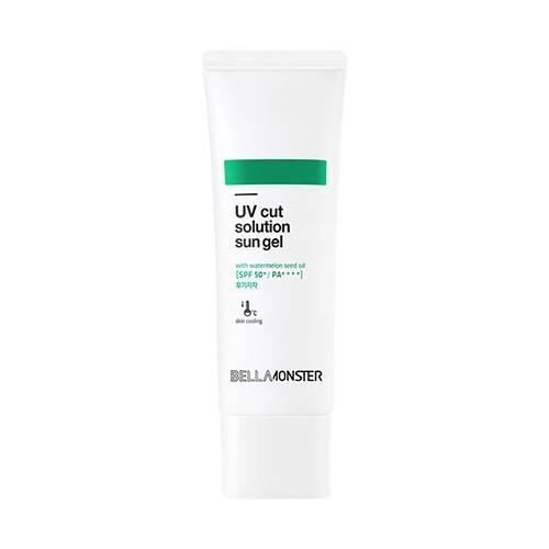 Солнцезащитный гель охлаждающий с маслом арбузных семечек BellaMonster Pore Out Solution UV Cut Solution Sun Gel 50ml 1 - Фото 2