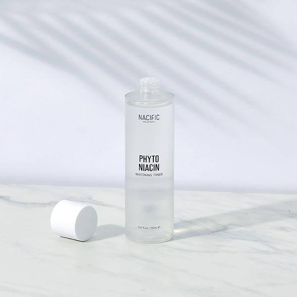 Тонер Осветляющий Укрепляющий С Мадекассосидом Nacific Phyto Niacin Whitening Toner 1 - Фото 2