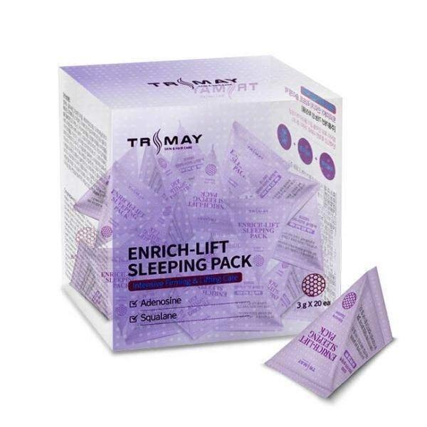 Маска ночная омолаживающая с аденозином Trimay Enrich-lift Sleeping Pack 3ml 0 - Фото 1