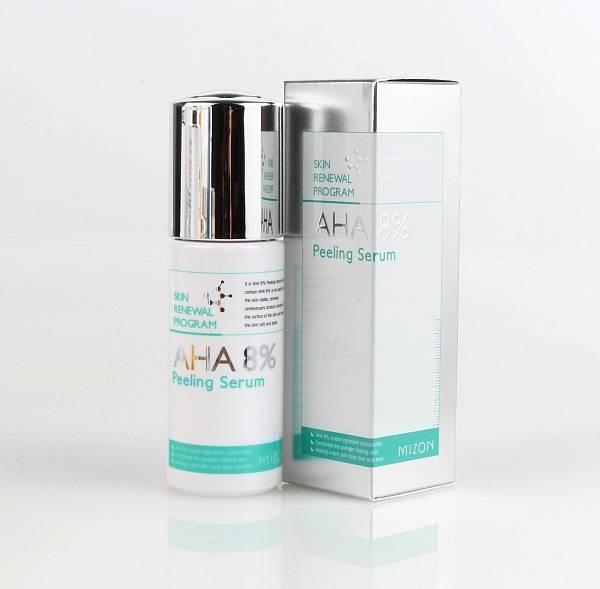Сыворотка-пилинг с AHA кислотами Mizon AHA 8% Peeling Serum 50ml 0 - Фото 1
