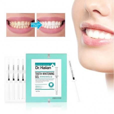 Гель для интенсивного отбеливания зубов с безопасной формулой May Island Dr. Haiian 7Days Miracle Tooth Whitening Gel 7шт*1g 1 - Фото 2