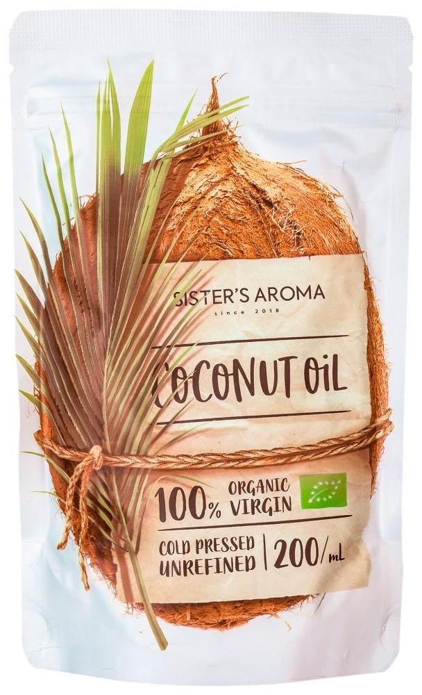 Кокосовое масло для волос и тела Sister's Aroma Extra Virgin