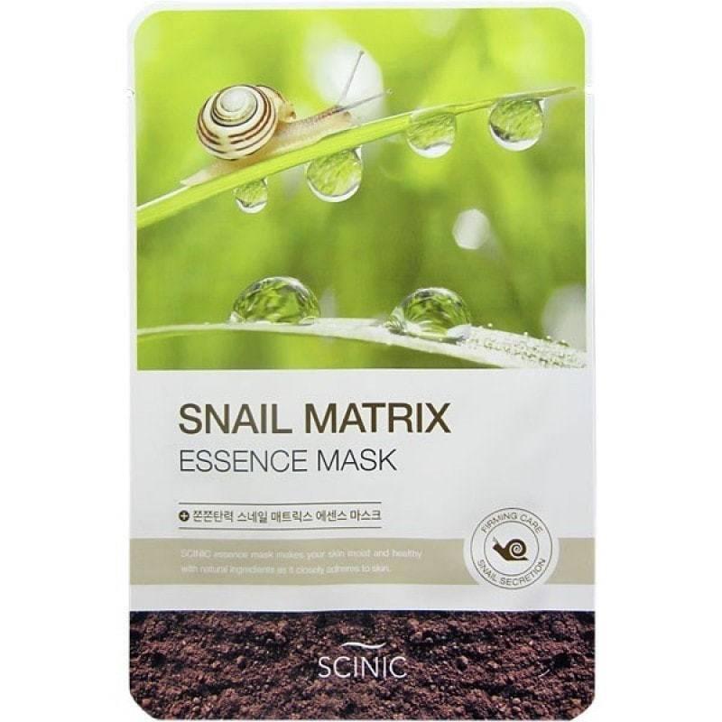 Маска Восстанавливающая Увлажняющая С Улиточным Муцином SCINIC Snail Matrix Essence