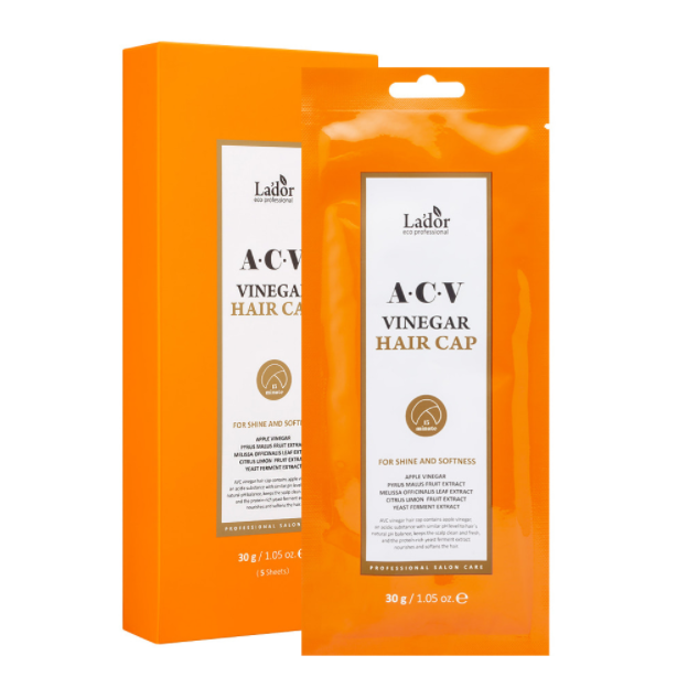 Маска-шапочка для волос La'dor ACV Vinegar Hair Cap 30g
