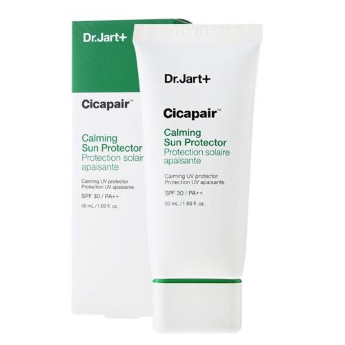 Солнцезащитный крем успокаивающий с экстрактом центеллы Dr.Jart+ Cicapair Calming Sun Protector 50ml Spf 30 / PA++ 50ml