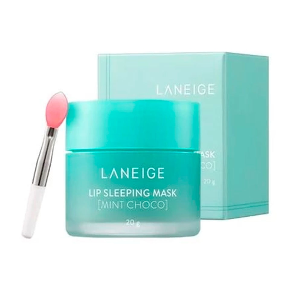 Бальзам-Маска Для Губ С Экстратом Мяты И Шоколада Laneige Lip Sleeping Mask Mint Choco 20g  0 - Фото 1