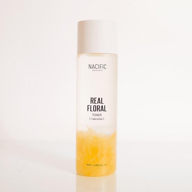 Увлажняющий тонер-антистресс для кожи лица с календулой Nacific Real Calendula Floral Toner 180ml 2 - Фото 2