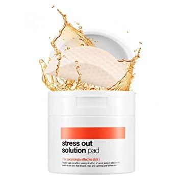 Тонер-пэды антистресс с экстрактом моркови BellaMonster Stress Out Solution Pad (70ea) 155ml