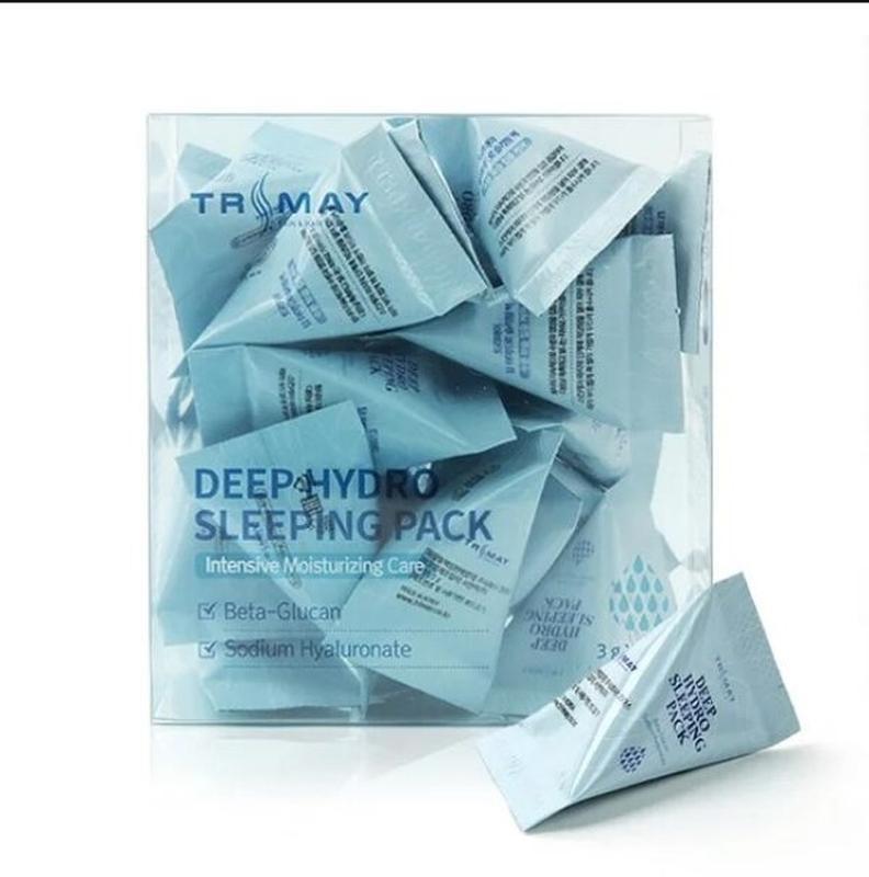 Маска ночная увлажняющая с гиалуроновой кислотой Trimay Deep Hydro Sleeping Pack 3ml 0 - Фото 1