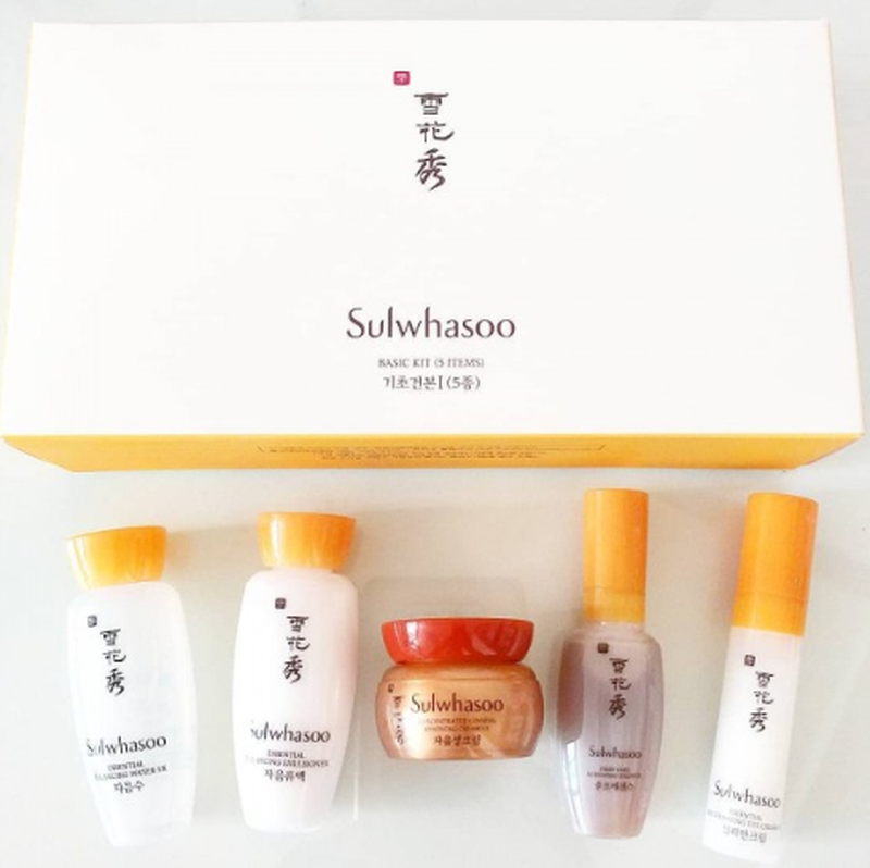Набор миниатюр. Набор из 5-ти уходовых средств для омоложения кожи лица Sulwhasoo Basic Kit (5 Items) 2 - Фото 2