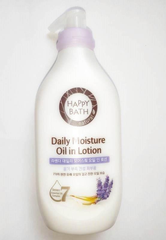 Лосьон парфюмированный и увлажняющий с экстрактом лаванды для тела Happy Bath Daily Perfume Lavender Body Lotion 450ml 2 - Фото 2