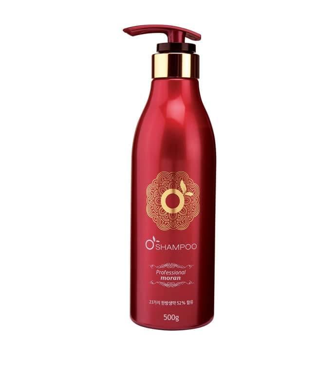 Укрепляющий Шампунь Для Восстановления Поврежденных Волос С Комплексом Трав Moran Premium Shampoo 1