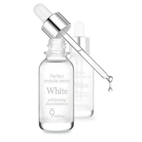 Сыворотка-Ампула Осветляющая С Экстрактом Жемчуга 9Wishes Miracle White Ampule Serum 25 мл 0 - Фото 1
