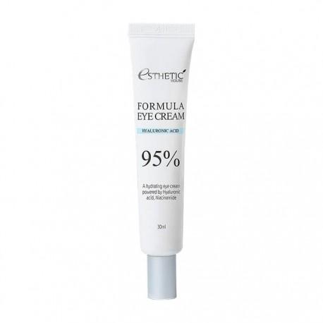 Крем увлажняющий для кожи вокруг глаз с гиалуроновой кислотой и ниацинамидом Esthetic House Formula Eye Cream Hyaluronic Acid 95%, 30ml 0 - Фото 1