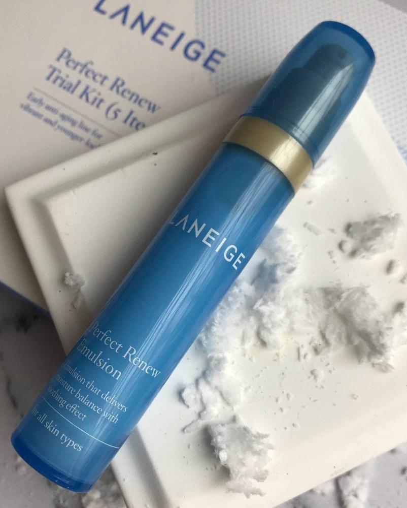 Набор для глубокого увлажнения кожи Laneige Perfect Renew Trial Kit 2 - Фото 2
