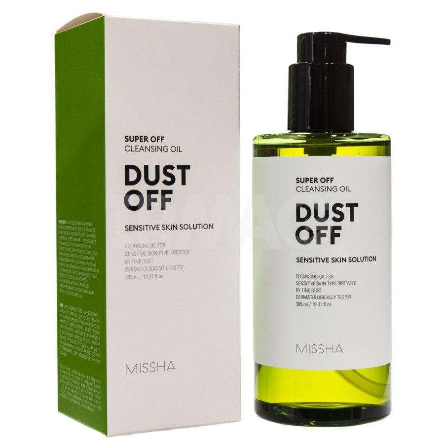 Натуральное очищающее гидрофильное масло MISSHA SUPER OFF CLEANSING OIL (DUST OFF) 305 ml 1 - Фото 2